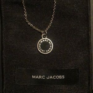 Marc Jacobs sterling silver pendant necklace